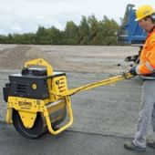 Pedestrian Single Drum Vibrating Rollers (For Hire)